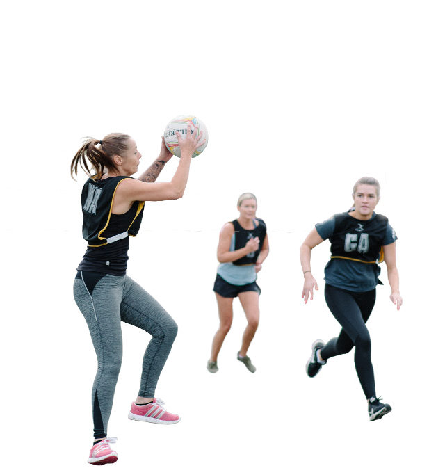 Bassetlaw Belles Netball Players Image