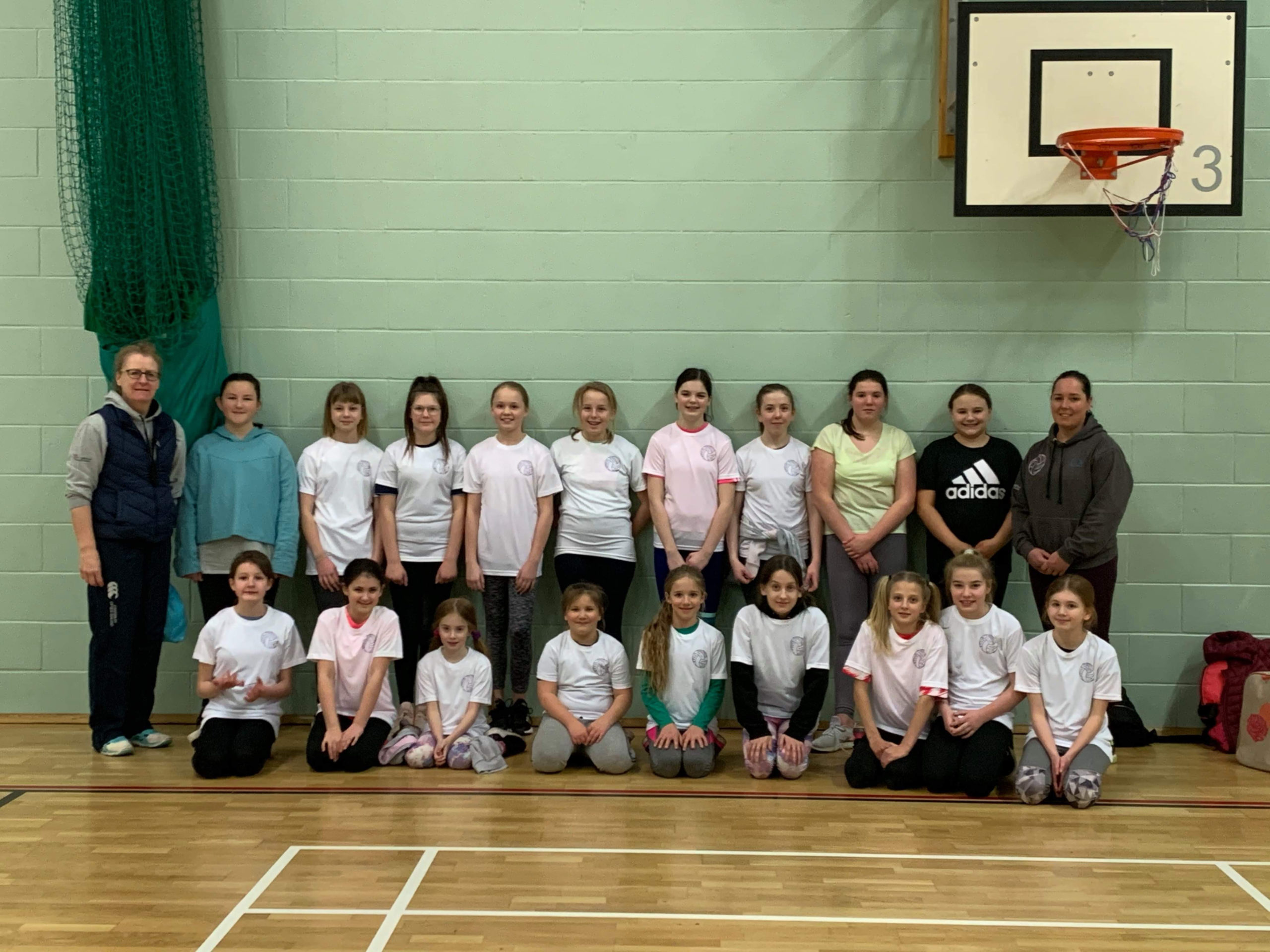 Junior Netball Players